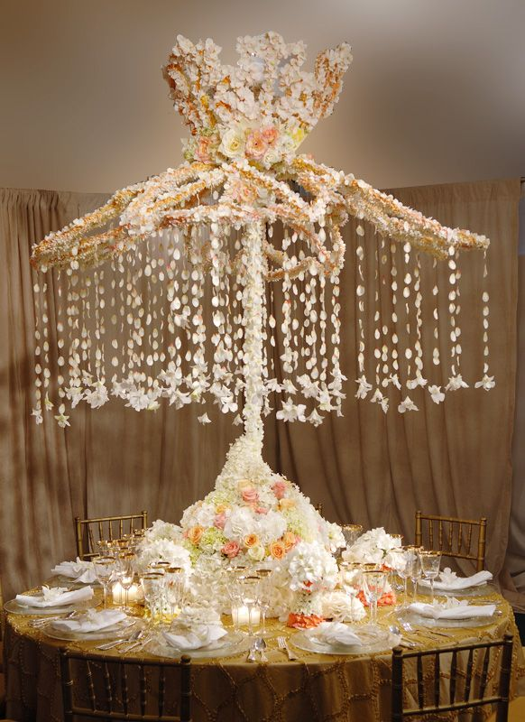 126 best images about quinceanera centerpieces on for Cool wedding table decorations