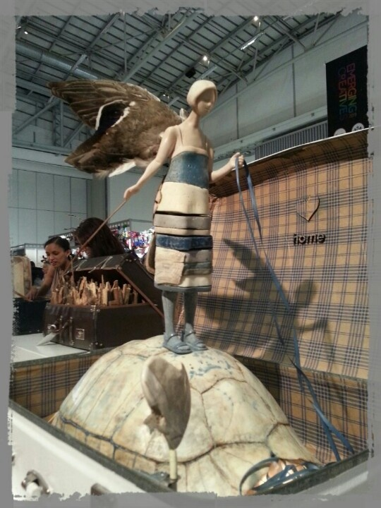 """wow """"Homing Bird"""" by Haidee Nel at #DesignIndaba2013 Cape Town"""
