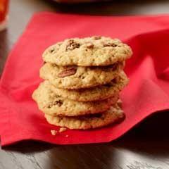 Peanut Butter Honey 'N Oatmeal Cookies