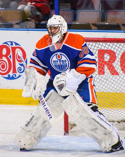 Ilya Bryzgalov #80 Edmonton Oilers