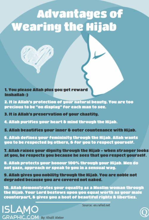 advantages of wearing hijab