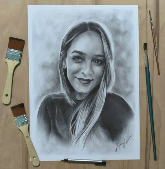 Portrait from your photo Commision Custom Gift Original  Oil