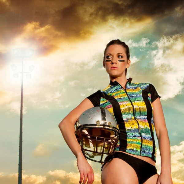 ♥ Heaven Magic Garden Zip Front Rash Vest $50 & Fashion Plains Hipster Brief $30 sold separately