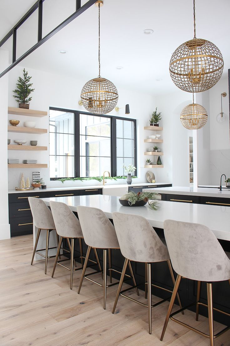 The Forest Modern Christmas Home Tour: The Kitchen