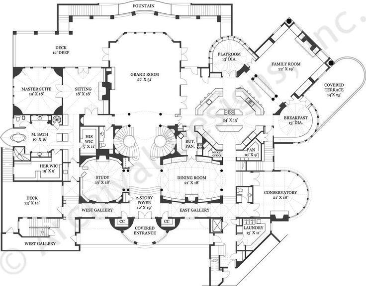 Best 25 house floor plans ideas on pinterest house for Castle like house plans