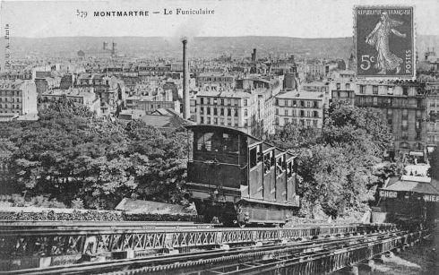 Funiculaire de Montmartre - Paris