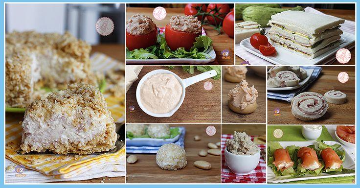 Tantissimi antipasti estivi senza cottura veloci e gustosissimi per una cena in piedi, un aperitivo, o un buffet di una festa.