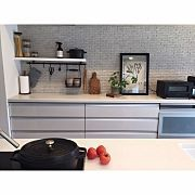 Kitchen/観葉植物/ソファー/ポスター/ダイニングテーブル/ベンチ...などのインテリア実例 - 2017-06-19 11:05:20
