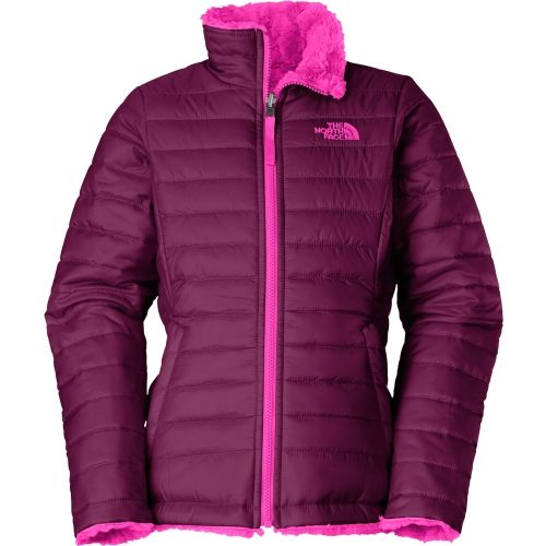 2bbc8e5dc813 The North Face Girls  Reversible Mossbud Swirl Insulated Jacket in ...