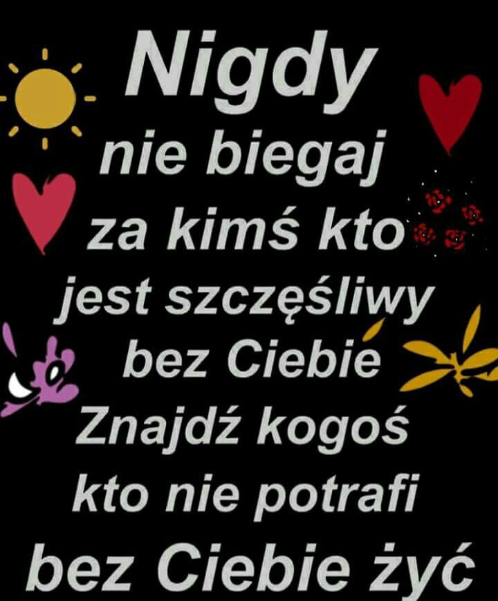 Pin By Wanda Swoboda On Motywacja Quotes Texts Calm