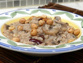 22 best vegetarian recipes images on pinterest vegan recipes mushroom hazelnut risotto dr gourmet healthy recipes sisterspd