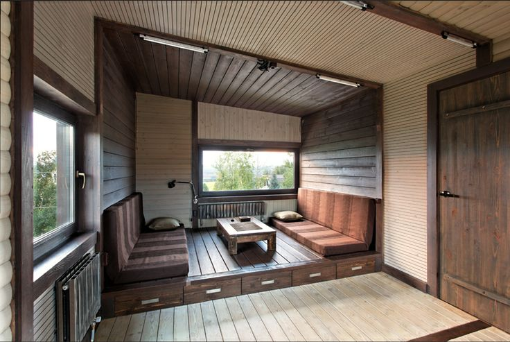 Wood Patchwork #House by Peter Kostelov | Like & pin it to your board if you like this! #architecture #residential #woodarchitecture #livingroom