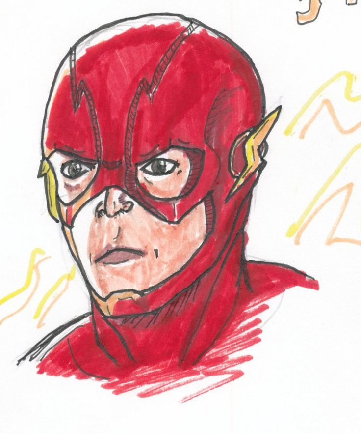 Flash (CW) by Comic-Book-Guy-2099 on DeviantArt