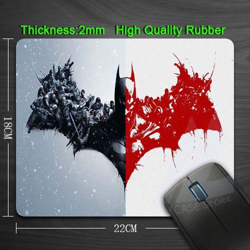 Фильмы бэтмен игровые площадки нестандартная конструкция Bestdurable анти-слип коврик для компьютерной мыши прочная резиновая