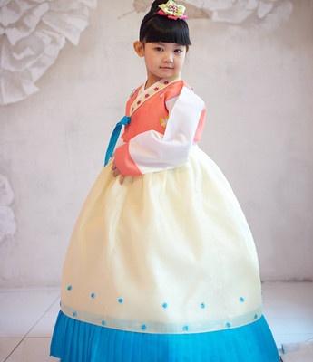 HANBOK Korean tranditional 1070 dress Baby Toddler Girl Kid party wedding