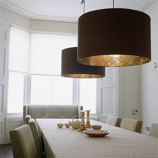 Stylish dining room lighting   Dining room furniture   housetohome.co.uk