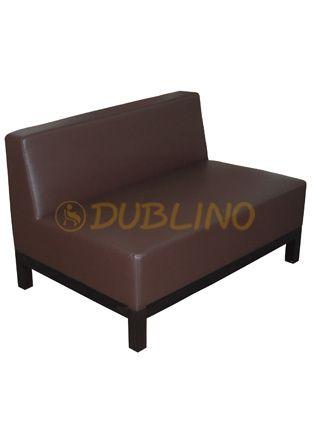 Dublino System/40/110 - Luongeová lavice na bukových nohách.