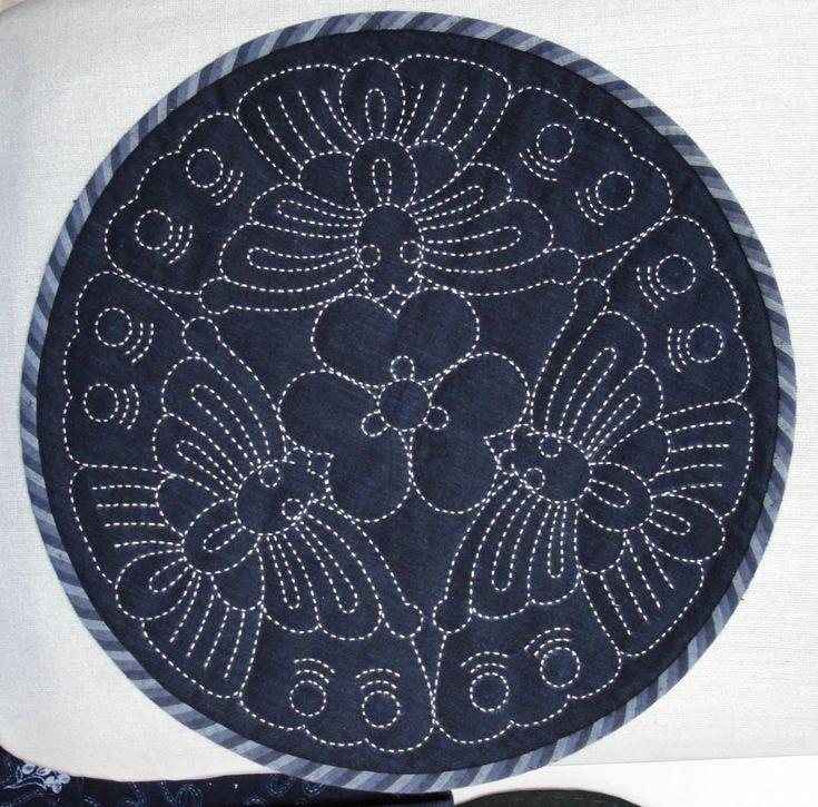 Sashiko fabrics to embroider