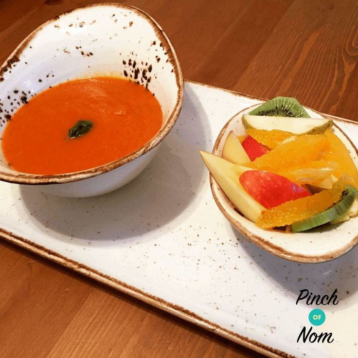 This is a super easy recipe for a Syn Free Speedy Tomato Soup……so easy you don't even have to peel the veg (apart from the onion of course!) For the full list of ingredients and comprehensive instructions, please see the recipe card at the end of this post. Before you scroll, there's important stuff in…