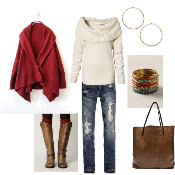 hmmm...maybe?Tall Boots, Invierno Style, Capes, Riding Boots, Cozy Outfit, Fall Outfit, Cozy Sweaters, Wear, Untitled 109