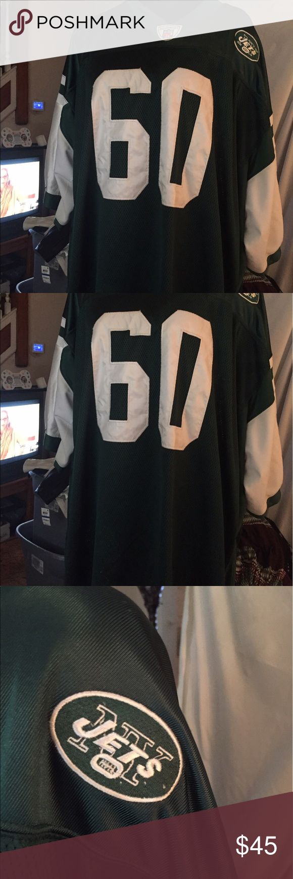 New York Jets Ferguson 60 Jersey New. STUNNING Size 60 of the New York Jets Jersey. A must for Jets fans. Condition is immaculate. Makes a wonderful full gift for the hubby or boyfriend or for any man. Looks be this. Reebok Other