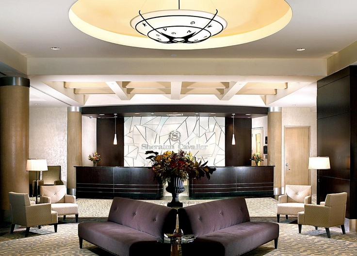 Sheraton Cavalier Calgary Hotel—Hotel Lobby