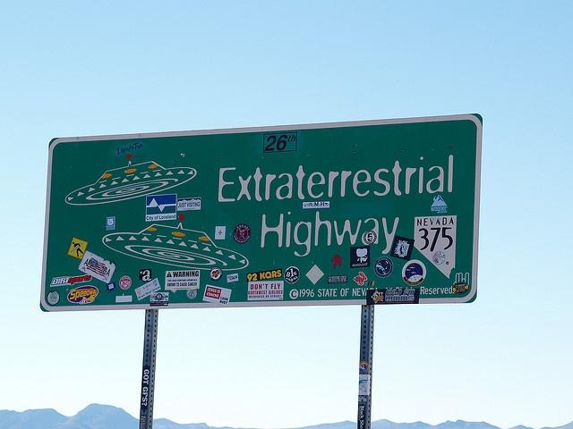 Rachel Nevada Extraterrestrial Highway Area 51 2007  Roads Signs  22