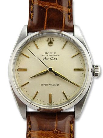 ROLEX Air-King Ref.5500 (Leather band)