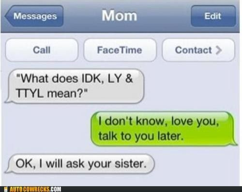 This reminds me of my mom.