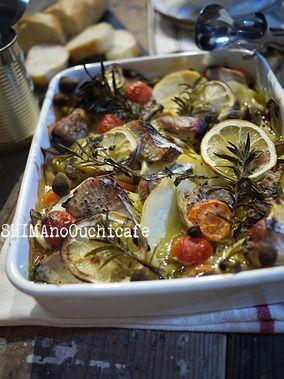 キャベツと鰹とジャガイモのサフラン風味+ホーロー焼きスープ|レシピブログ