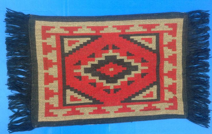 Southwestern Tabletop Decor Southwestern Geometric Design Placemats Set of 4 #Southwestern