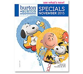 NOVEMBER SPECIALS 2015 #burtonandburton