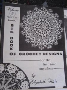 See Sally Sew-Patterns For Less - Elizabeth Hiddleson Original Crochet Designs Volume 6 Vintage Needlework, $7.99 (http://stores.seesallysew.com/elizabeth-hiddleson-original-crochet-designs-volume-6-vintage-needlework/)