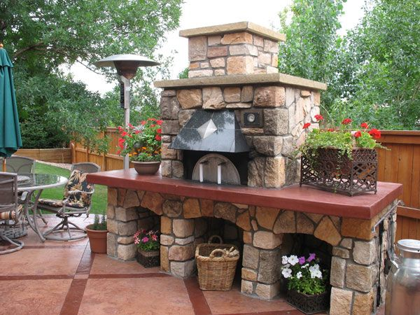 EarthStone Ovens - I like outdoor pizza ovens!