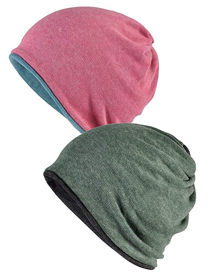 Women s Beanie Chemo Hat Infinity Scarf Head Wrap Cap Review ... b6779930719