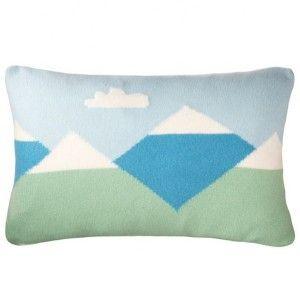 Donna Wilson Mountain Peaks Cushion #donnawilsongiftsforkids