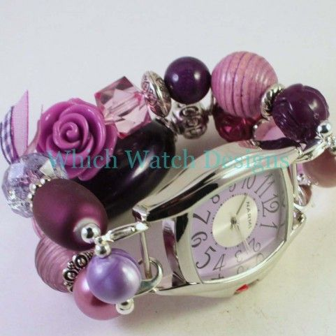 Purple Jumble Watch Band - Which Watch Designs