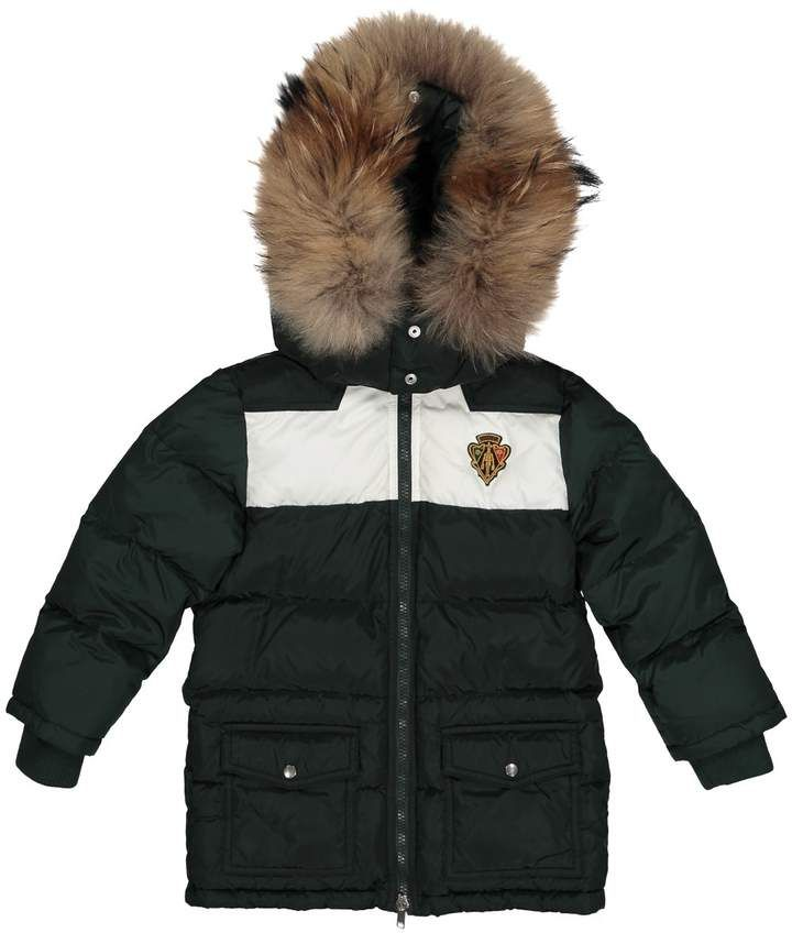 3a35a5125 Gucci Green Synthetic Jacket & Coat | Kids Outerwear in 2019 | Kids ...