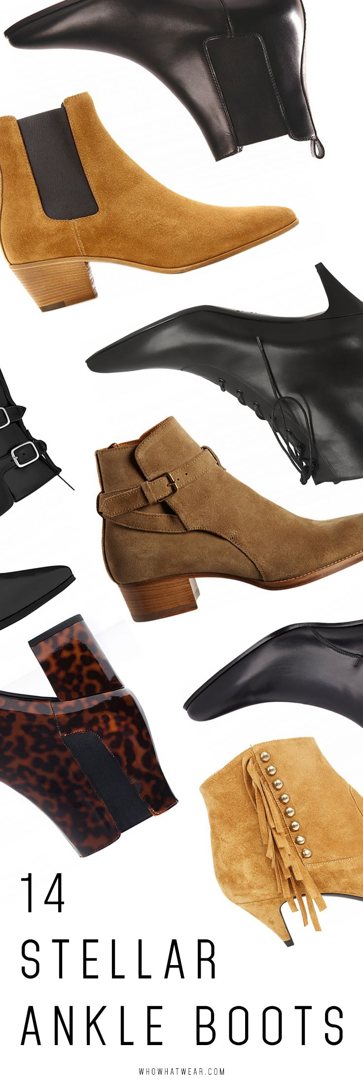 The best ankle boots to shop now