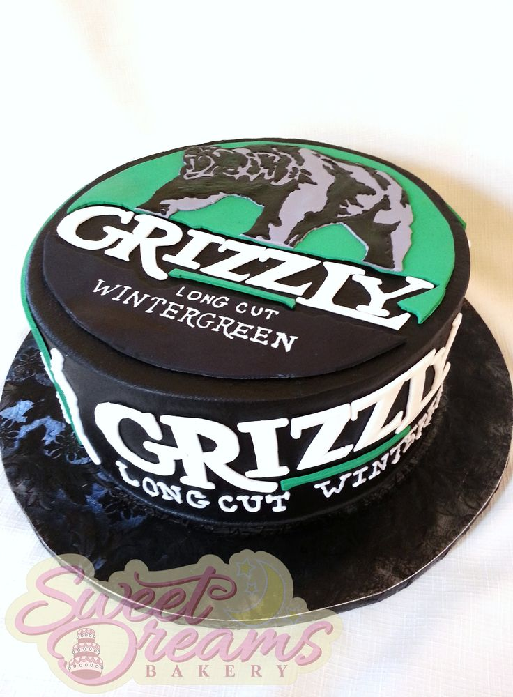 Instead of Grizzly, I would have Red Seal Snuff cake as a groom's cake. It would so funny to see your face hunny lol.