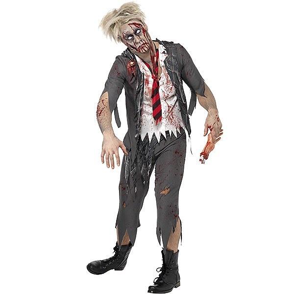 Disfraz de Estudiante Zombi #zombi #miedo #terror #disfraces #halloween