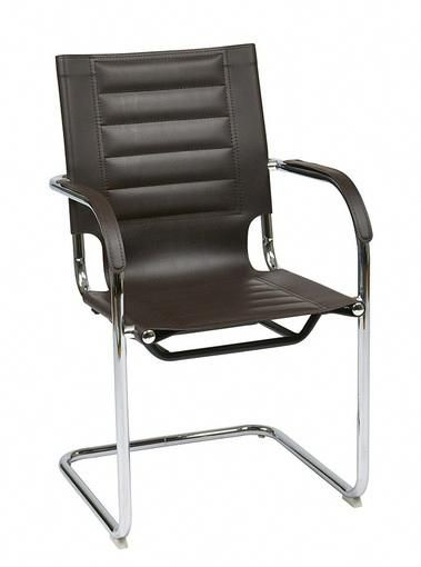 Office Star Trinidad Guest Chair In Espresso Vinyl Tnd945a Es Officechairs Small For Bedroom Pinterest