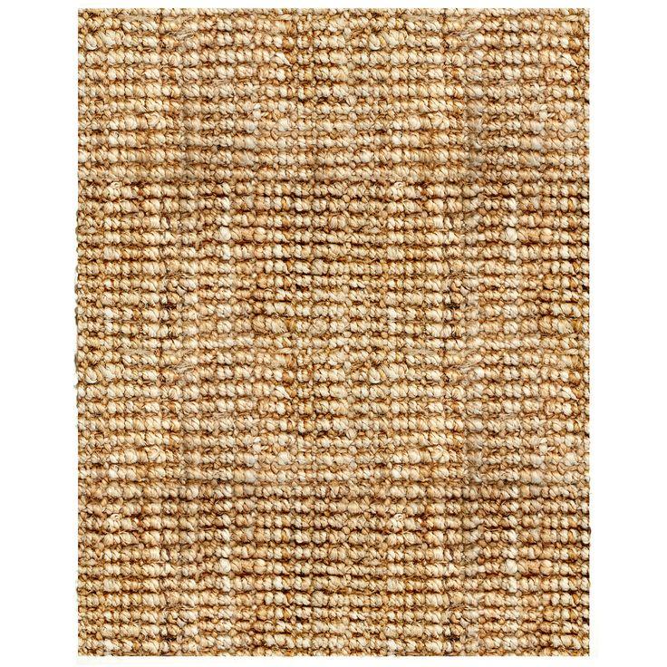 Jani Sahara Boucle Weave Jute Rug 10 X 14 By