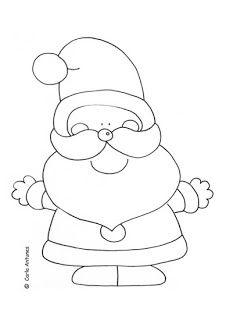 ilustracoes: Colorir imagens de Natal de Carla Antunes