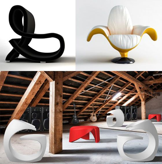 11 Ultra Modern And Unique Chair Designs