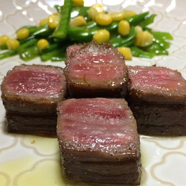 #牛バラ肉#和牛#ステーキ#トリュフ塩#トリュフオイル#牛肉#肉#さやえんどう#ナムル#自作#おうちごはん#男料理#beefribs#wagyu#steak#trufflesalt#truffleoil#beef#meat#homemade#good#instafood#gourmet#delicious#love#mancooking#food#foodie#foodporn#foodgasm