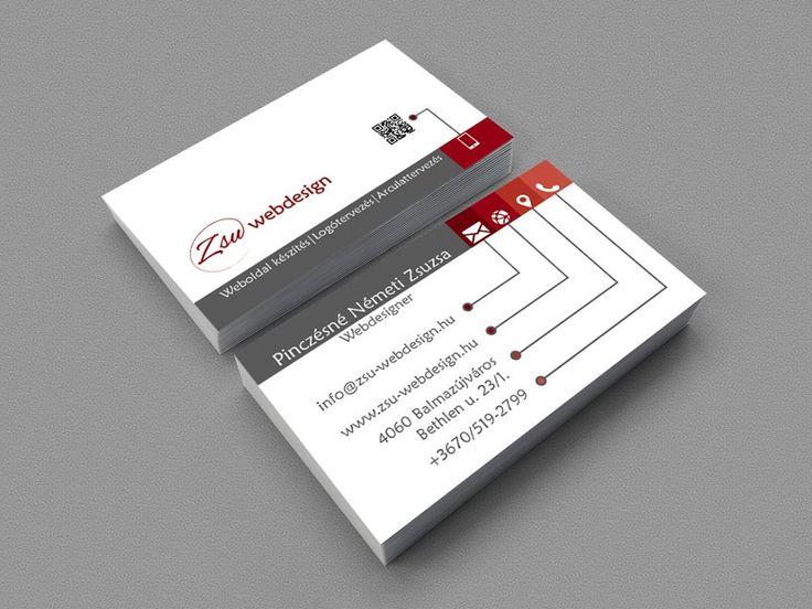Zsu-Webdesign business card by Zsu-Webdesign