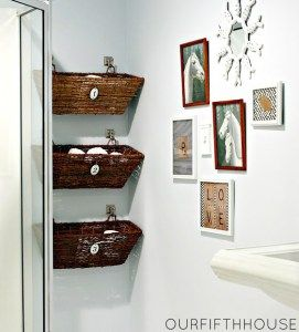 Bathroom Storage: Over The Toilet // Round Up By Amber Oliver.com