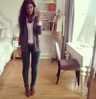 Best 25  Green skinnies ideas on Pinterest