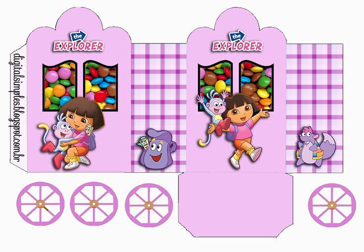 carrinho de doces